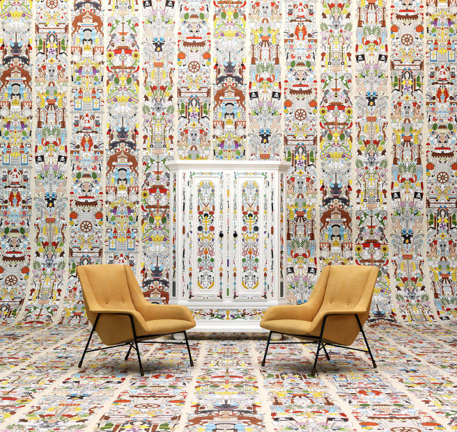 """Alt Deutsch"" Studio Jobs' Archives Wallpaper collection for NLXL"